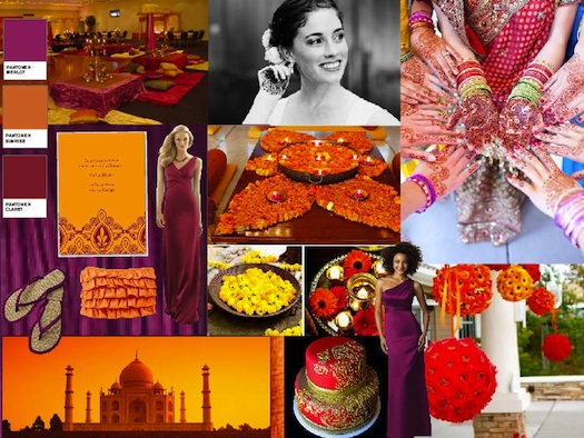 Indian wedding inspiration board