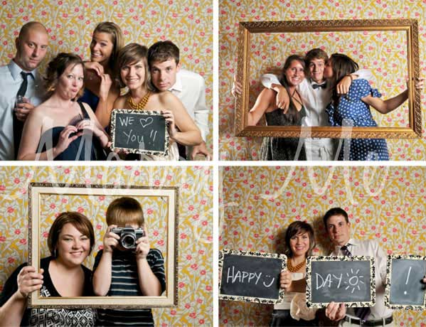 Wedding Photography Funky Photo Booth Ideas