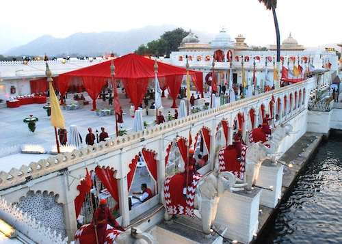 Wedding in Jagmandir, Udaipur