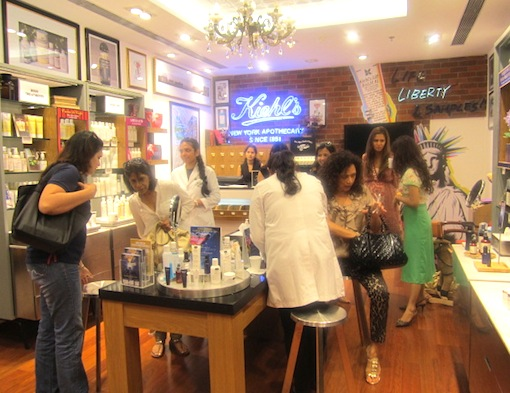 brides at Kiehl's event with Marry Me Weddings