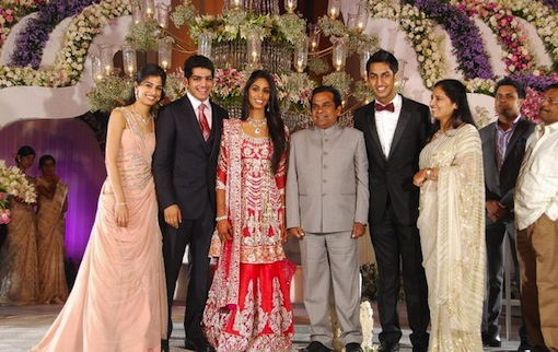 Mallika-Reddy-Wedding-Reception Pictures