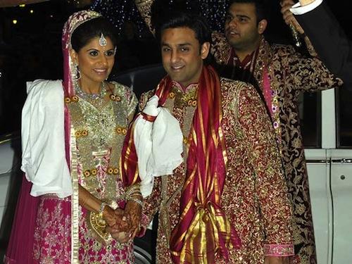 Kajal Fabiani and Gaurav Assomull wedding pictures