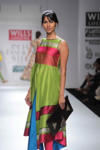 Priyadarshani Rao at Willis Lifestyle India Fashion Week 2012