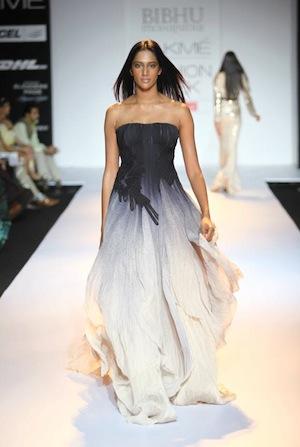 Bibhu Mohapatra dresses at Lakme Fashion week