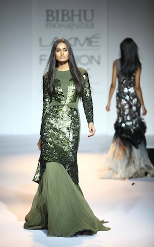 New York designer Bibhu Mohapatra at Lakme Fashion week 2012 India