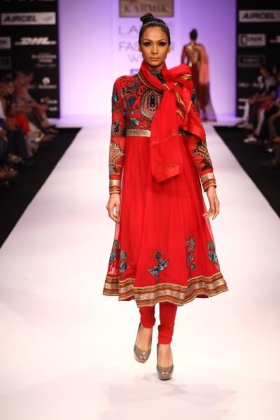 A KARMIK creation for Lakme Fashion Week 2012