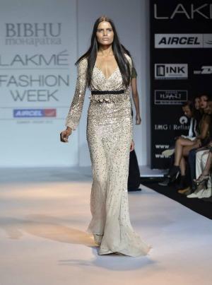 New York designer Bibhu Mohapatra at Lakme Fashion week