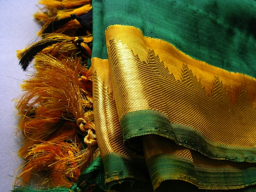 Kanjiveram saree from Tamil Nadu