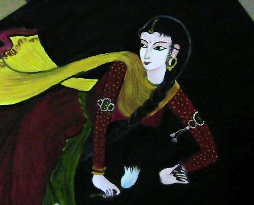 Kalamkari work Andra Pradesh