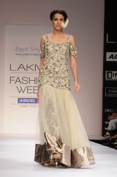 Payal Singhal for Lakme Fashion week 2012