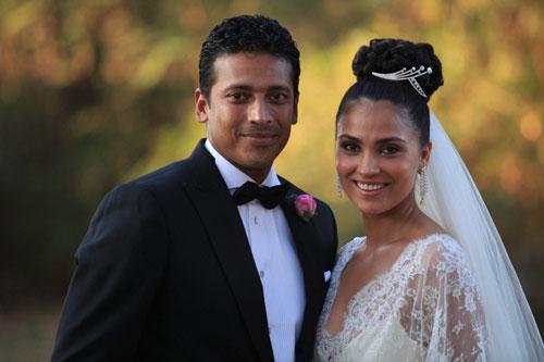 Lara Dutta - Mahesh Bhupati wedding