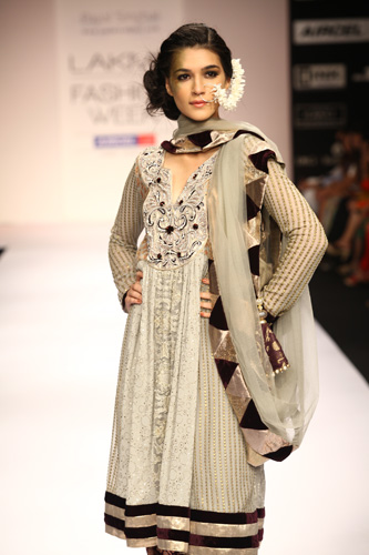 model in payal signal at Lakme Fashion week