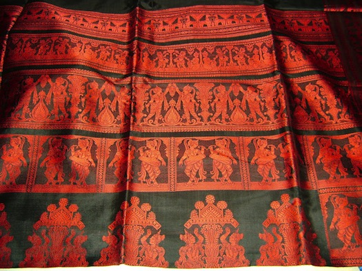 Baluchari sarees west bengal