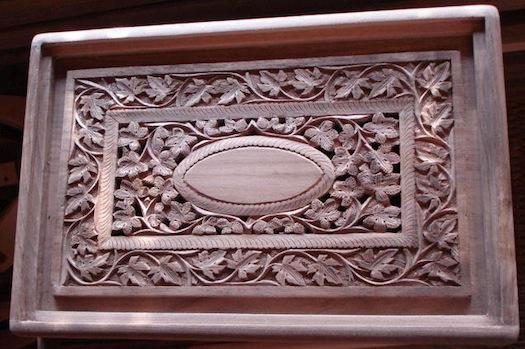Walnut wood furniture  Kashmir
