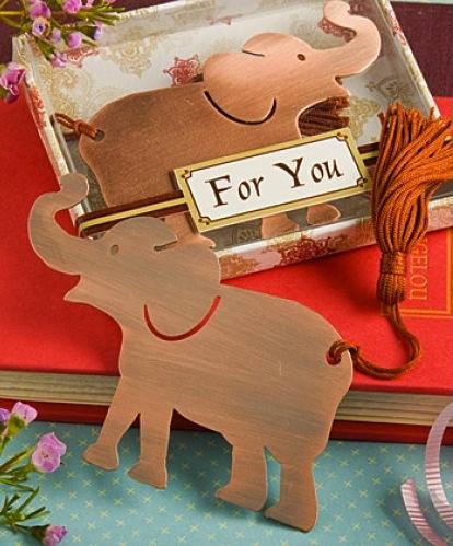 elephant wedding favors