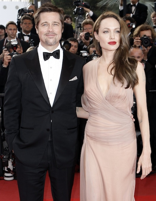 Brangelina on the red carpet
