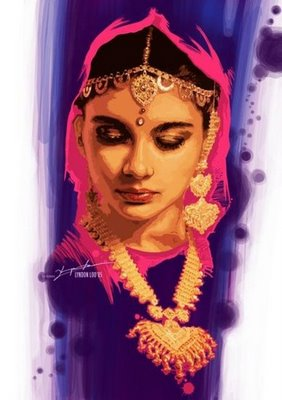 Indian_women_jewellery painting