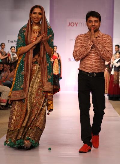 Joy Mitra at Pune Fashion Week 2012