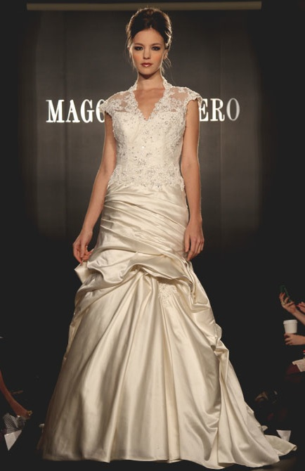 Maggi Sottero's collection at New York Bridal Week