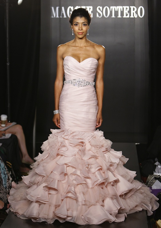 Maggi Sottero's  bridal wear at New York Fashion week 2012