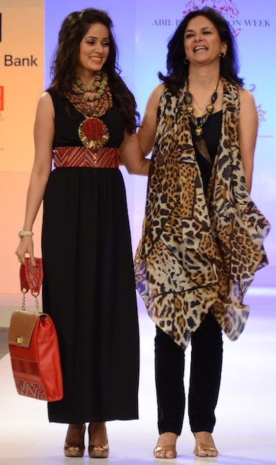 Malini Agarwalla at Pune Fashion Week 2012