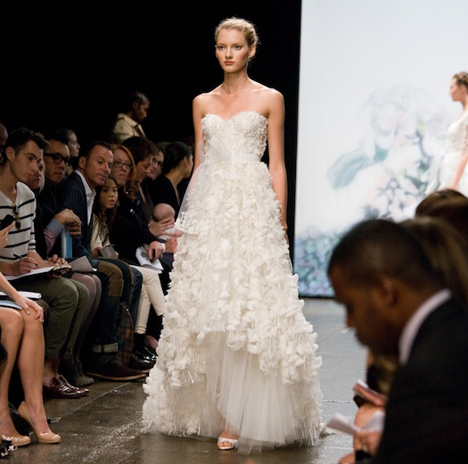 Monique Lhuillier New York Bridal Week