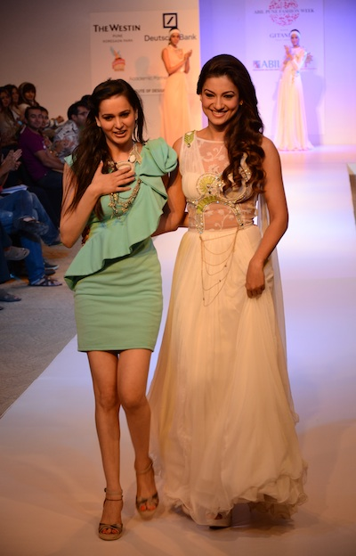 Nitya Bajaj at ABIL Pune Fashion Week 2012