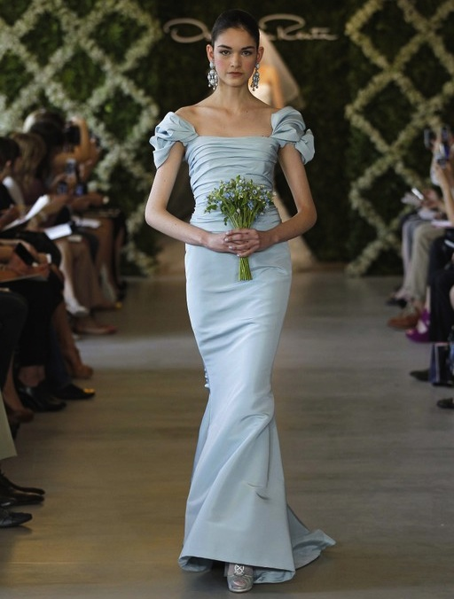 Oscar de la Renta bridal wear New York Bridal Week