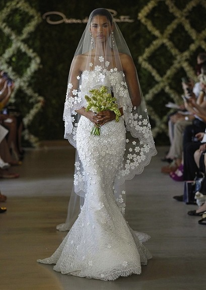 Oscar de la Renta New York Bridal Week