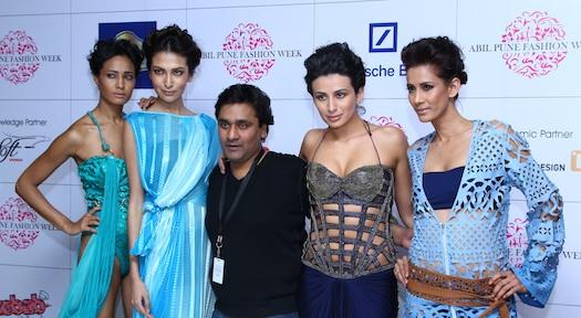 Rakesh Agarval at Pune Fashion Week 2012