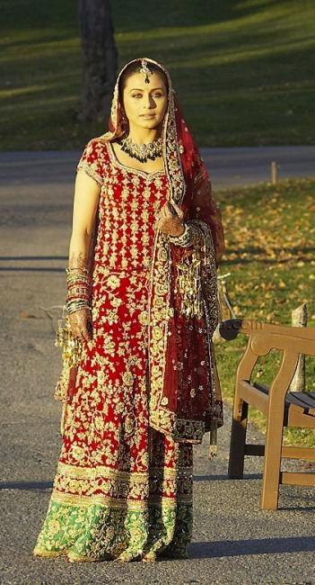 Rani Mukerjee Bollywood bride in Kank