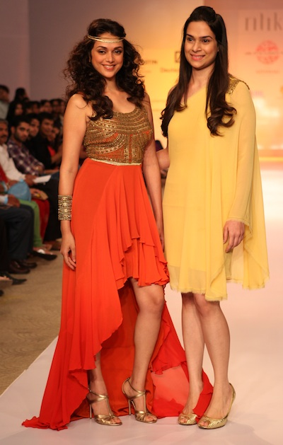 Ritika Bharwani at Pune Fashion Week