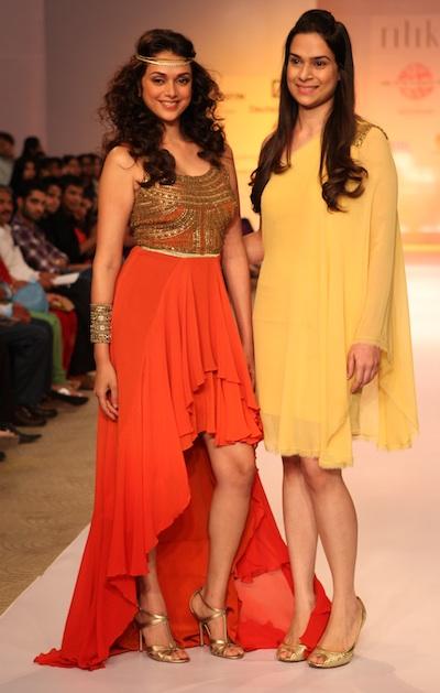 Ritika Bharwani at Pune Fashion Week