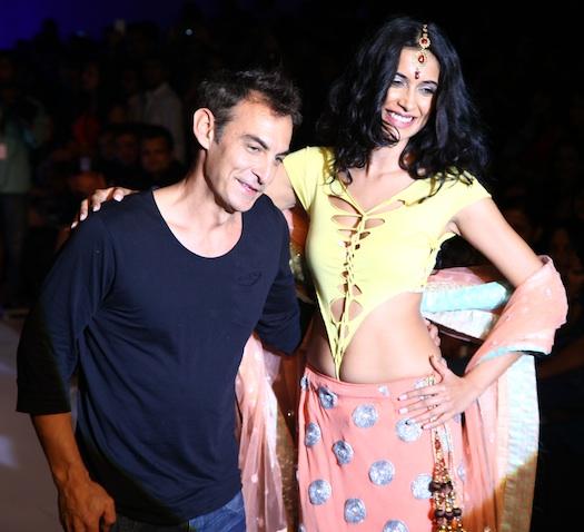 Sarah Jane Dias at Pune Fashion week