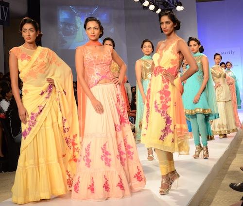 Surily Goel at Pune Fashion week