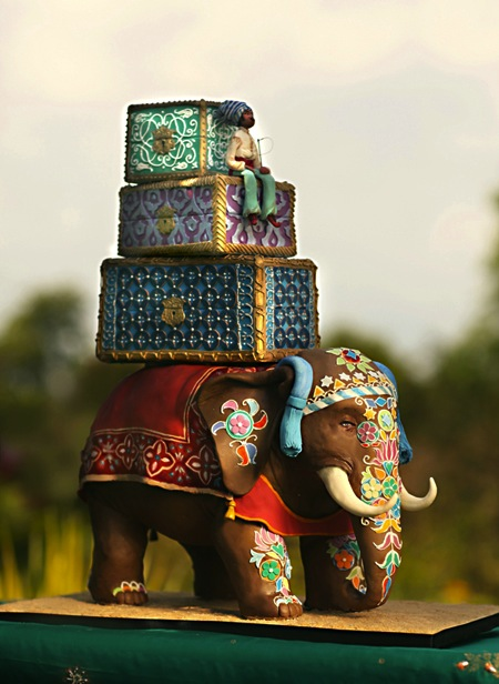 indian wedding elephant wedding cake Elephant inspired wedding favors are
