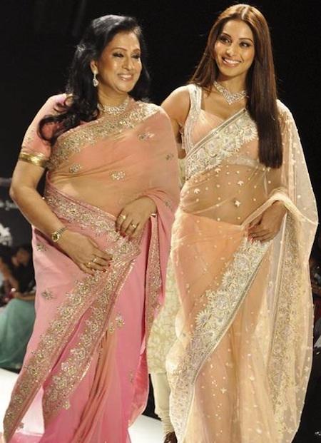 Bipasha Basu walks ramp with her mother