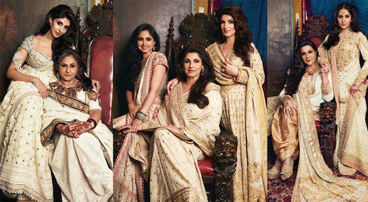 Bollywood mothers and daughters