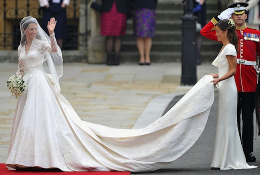 Cathedral viel Kate Middleton