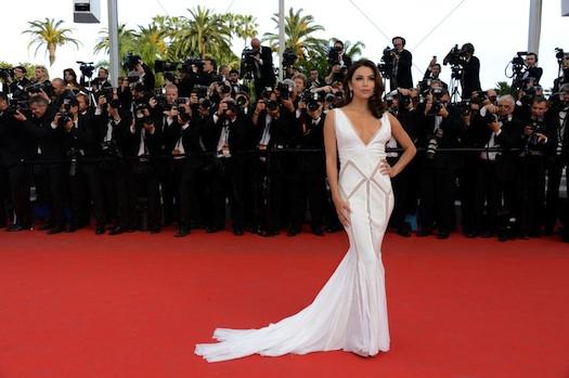 Eva Longoria at day Cannes 2012