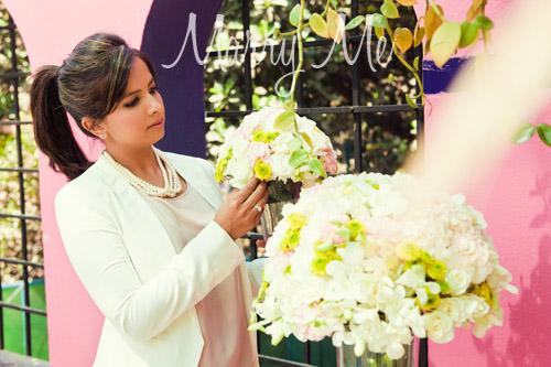 Floral arrangement by Candice Pereira