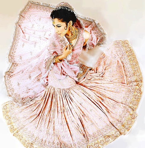 Gharara for Indian wedding