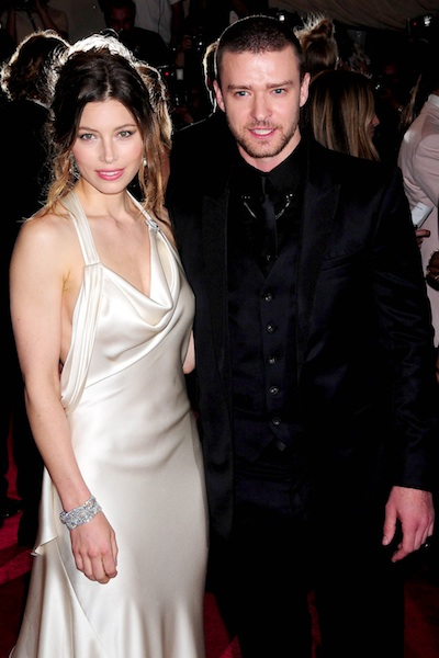 Justin Timberlake & Jessica Biel wedding