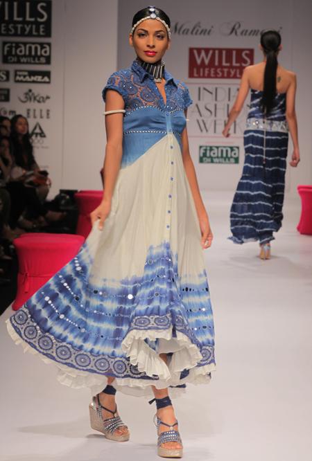 Malini Ramani at Wills India Fashion week