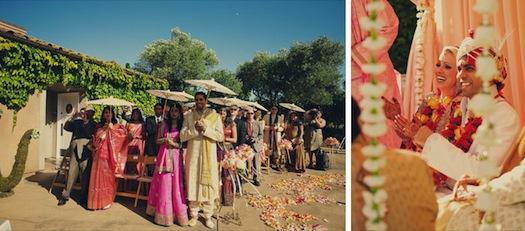 Muli cultural Indian wedding in summer