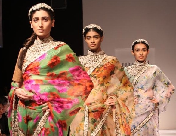 Sabyasachi collection at Lakme Fashion week