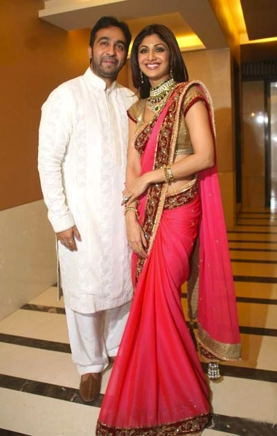 Shilpa Shetty Wedding Look