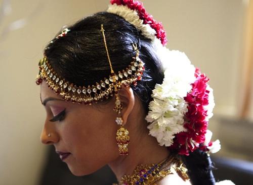 Sri Lankan bridal look