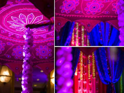 Traditional Indian wedding decor