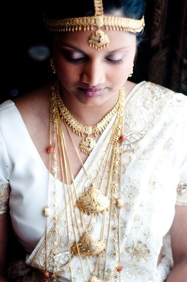 Traditional Sri Lankan bride